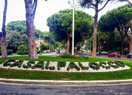 Rotonda di Casal Palocco - foto di Affaritaliani