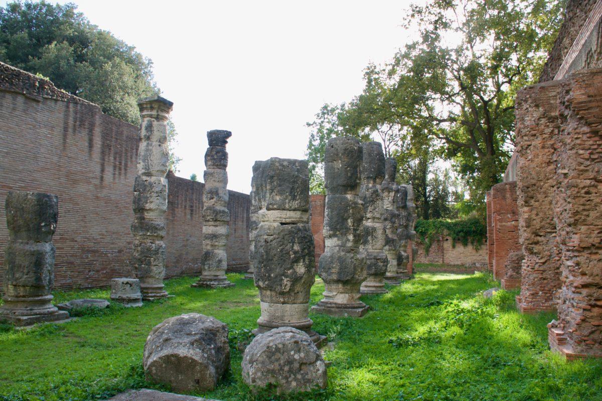 Portus, Sala delle Colonnacce - foto di Federica Sequi