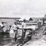 Ostia - pescatori sulla spiaggia - 12.2.1932
