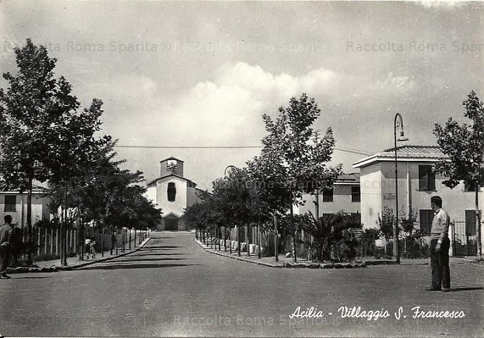 Villaggio San Francesco - foto Roma Sparita