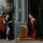 Annunciazione (1528) Garofalo nella Pinacoteca dei Musei Capitolini.