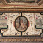Fregio ed affresco della Sala delle Aquile dei Musei Capitolini
