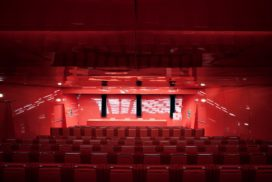 La sala conferenze del MACRO - Foto di Altrospazio