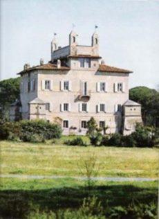 Villa Sacchetti Chigi CastelFusano esterno