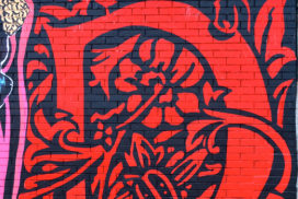 Murales al mercato dell'Appagliatore  - foto di F. Sequi