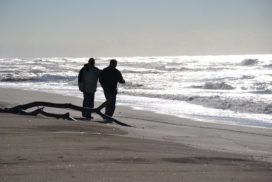 Dopo la mareggiata - foto di Federica Sequi