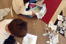 Giocando con la carta