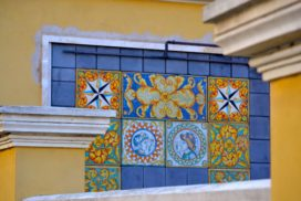 Villini e palazzine di Osta - foto di Federica Sequi
