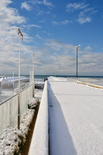 La neve del 2018 - Ostia