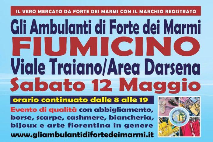 Calendario Mercato Forte Dei Marmi 2020.Il Mercato De Gli Ambulanti Di Forte Dei Marmi A Fiumicino
