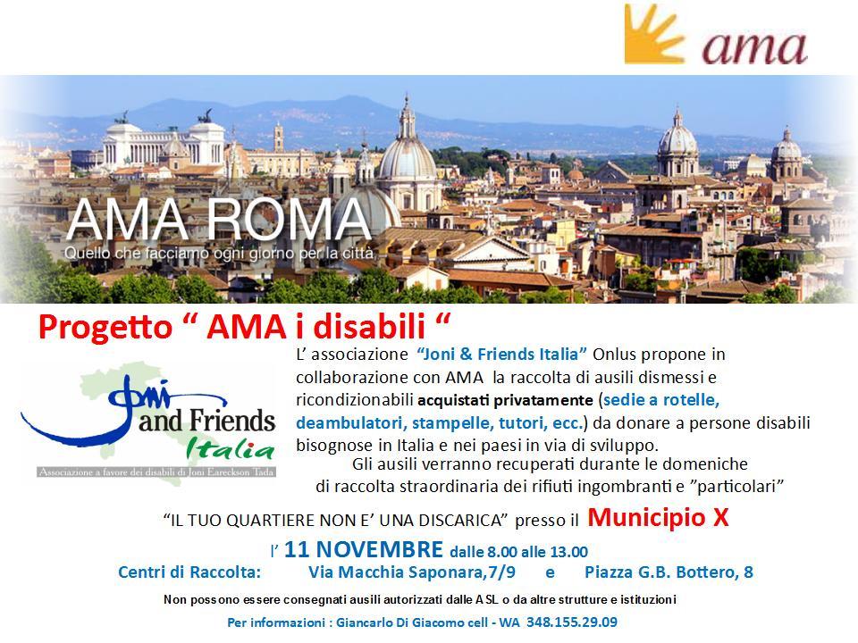 Raccolta Rifiuti Ingombranti Roma Calendario 2020.Ama I Disabili E Il Tuo Quartiere Non E Una Discarica